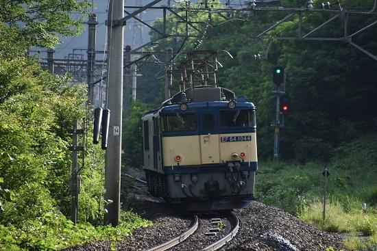 2020年6月27日撮影 篠ノ井線8467レ 西条駅進入・・後撃ち