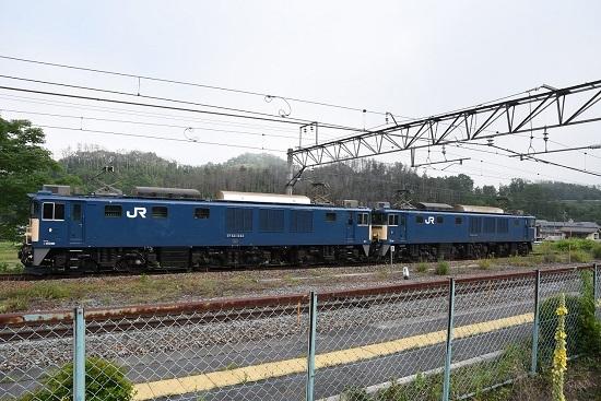 2020年6月27日撮影 篠ノ井線8467レ 坂北駅にて