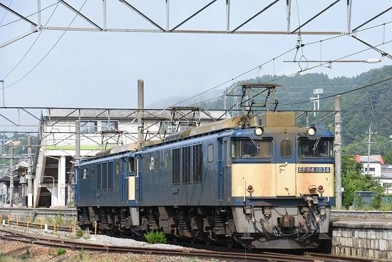 2020年6月27日撮影 篠ノ井線8467レ 聖高原駅