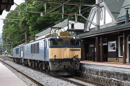 2020年6月27日撮影 篠ノ井線8467レ 姨捨駅入線