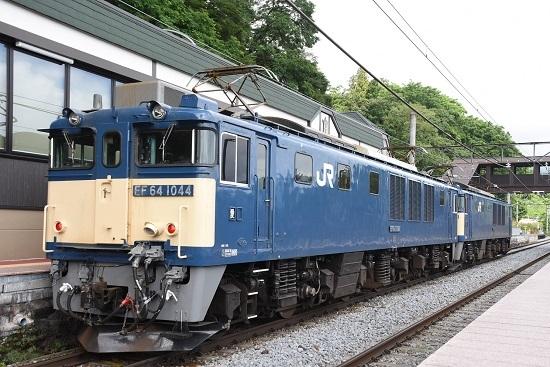 2020年6月27日撮影 篠ノ井線8467レ 姨捨駅にてEF64-1044号機側