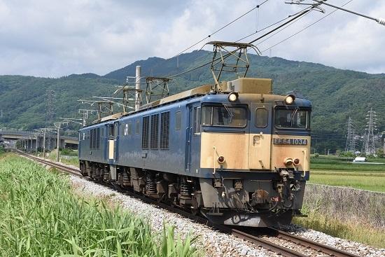 2020年6月27日撮影 篠ノ井線8467レ 稲荷山