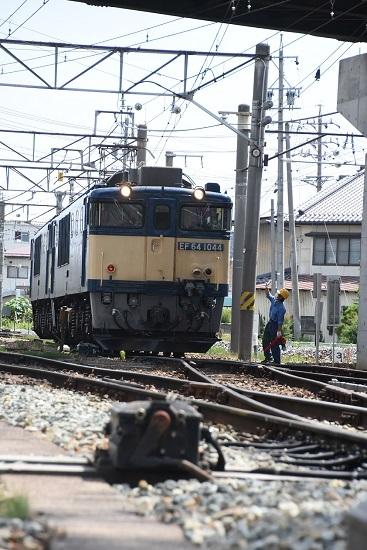 2020年6月27日撮影 篠ノ井線8467レ 篠ノ井派出所 パン2個下げ