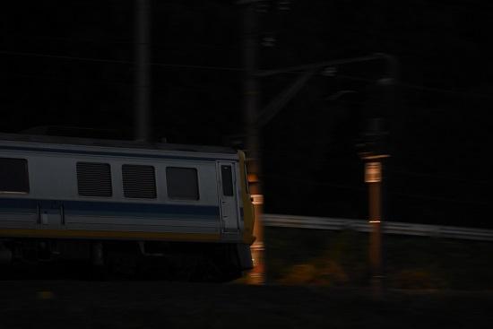 2020年10月18日撮影 試9785D 飯田線キヤ検 先頭を流し撮り
