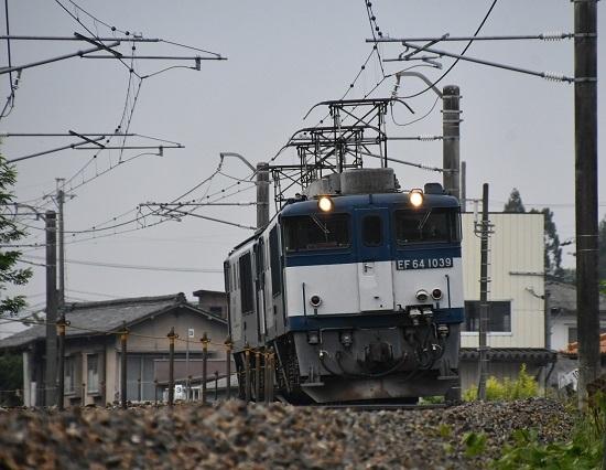 2020年6月6日撮影 篠ノ井線8467レ EF64-1039+1033号機