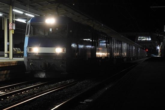 2020年10月20日撮影 東線貨物89レ EH200-14号機