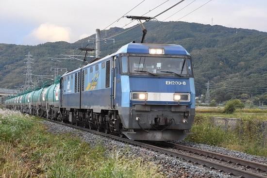 2020年10月24日撮影 篠ノ井線にて坂城貨物2085レ