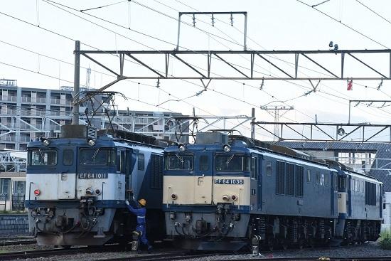 2020年8月15日撮影 南松本にて 篠ノ井線8467レ メモを渡す