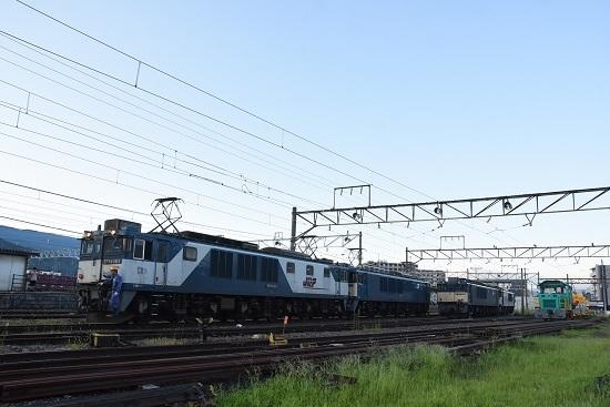 2020年8月15日撮影 南松本にて 篠ノ井線8467レ 機回し開始