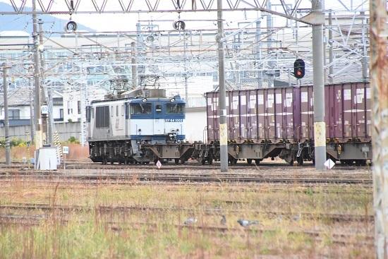 2020年10月24日撮影 篠ノ井駅にて北長野貨物83レ EF64-1002号機
