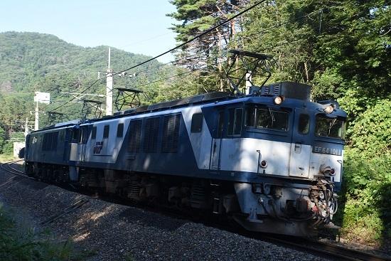 2020年8月15日撮影 篠ノ井線8467レ 西条トンネル出口