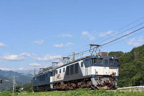 2020年8月15日撮影 篠ノ井線8467レ 坂北カーブにて