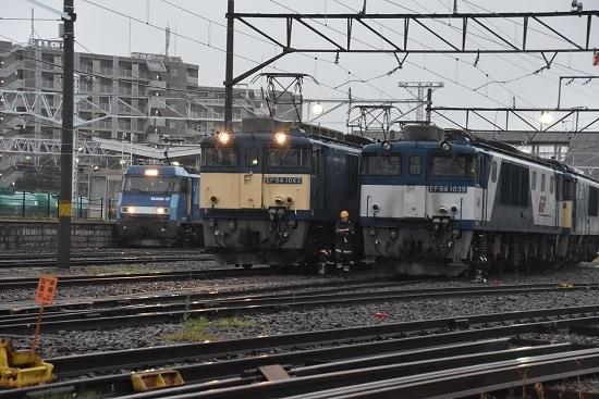 2020年7月4日撮影 南松本にて篠ノ井線8467レと坂城貨物5463レ
