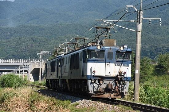 2020年8月15日撮影 篠ノ井線8467レ 聖高原ストレート