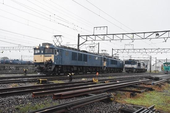 2020年7月4日撮影 南松本にて篠ノ井線8467レ 機回し発車