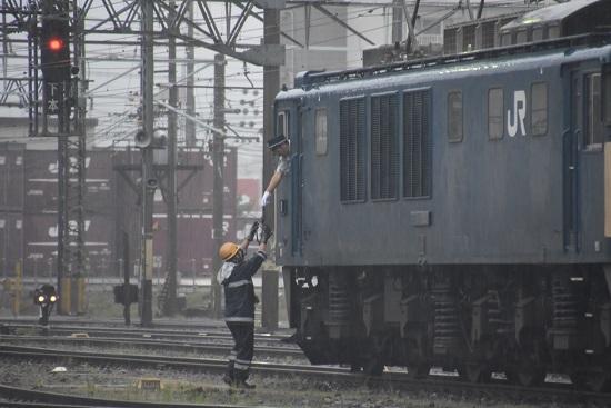 2020年7月4日撮影 南松本にて 篠ノ井線8467レ 無線機返却
