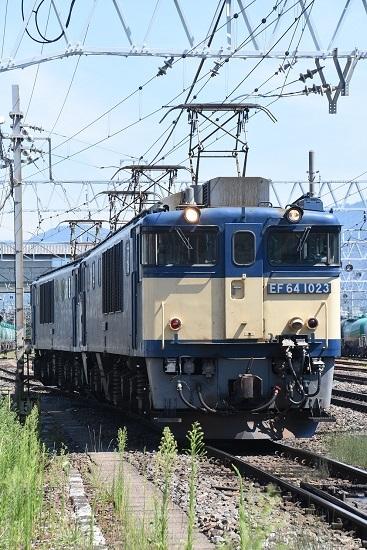 2020年8月15日撮影 南松本にて 西線貨物8084レ 機回し 下り2番線へと