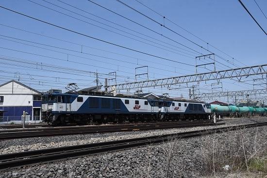 2020年5月2日撮影 西線貨物8084レ EF64-1013+1015号機