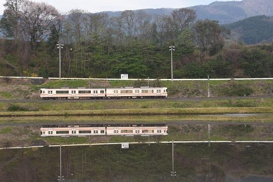 2020年5月3日撮影 飯田線1403M 313系水鏡のUP