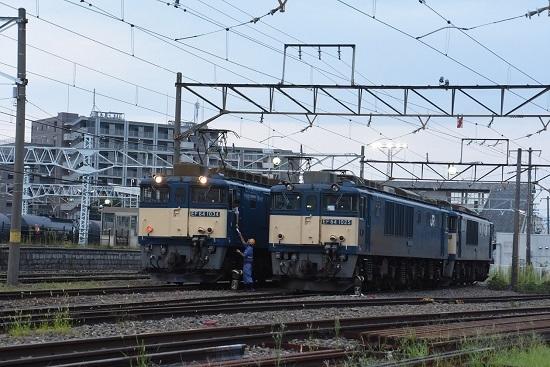 2020年8月22日撮影 南松本にて篠ノ井線8467レ メモ渡し