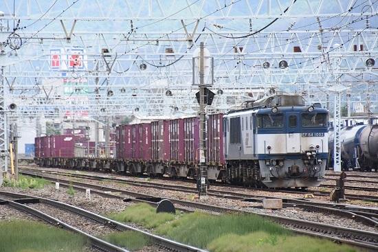 2020年7月12日撮影 南松本にて 80レ EF64-1002号機