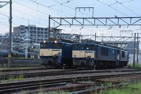 2020年8月22日撮影 南松本にて 篠ノ井線8467レ 機回し開始