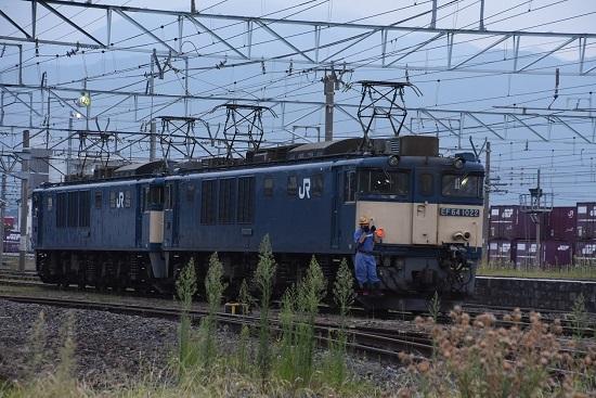 2020年8月22日撮影 南松本にて 篠ノ井線8467レ 機回し中