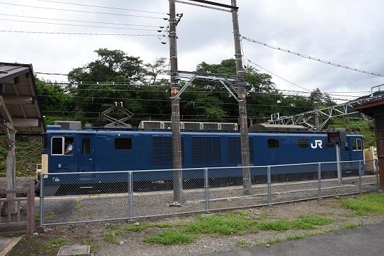 2020年7月12日撮影 洗馬駅にて81レ EF64-1033号機