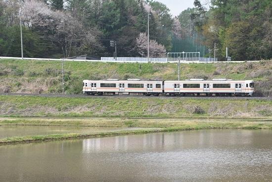 2020年5月3日撮影 飯田線回送 313系 水鏡狙い