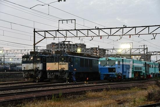 2020年10月3日撮影 南松本にて 篠ノ井線8467レ メモ渡し