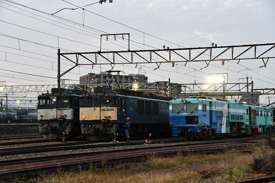 2020年10月3日撮影 南松本にて 篠ノ井線8467レ 無線機渡し