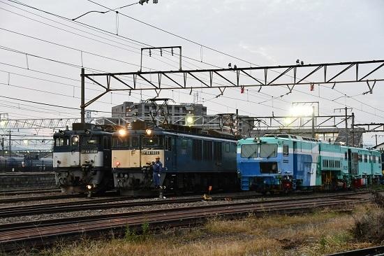 2020年10月3日撮影 南松本にて 篠ノ井線8467レ 機回し開始