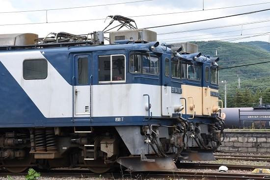 2020年7月12日撮影 南松本にてEF64-1017+1024号機の並びのUP
