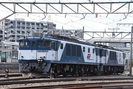2020年5月4日撮影 南松本にて EF64-1039+1010号機
