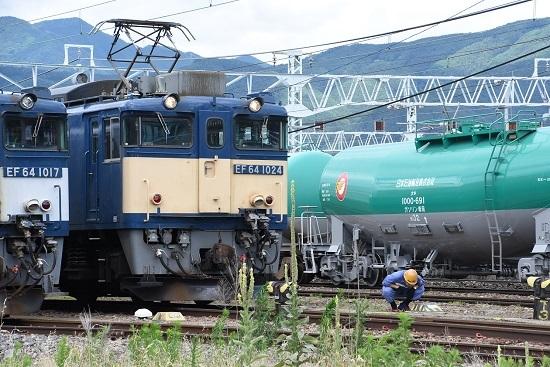 2020年7月12日撮影 南松本にて西線貨物5880レ機回し トークバック