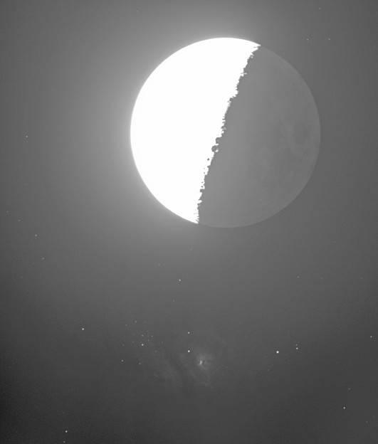 干潟星雲食2020-0317