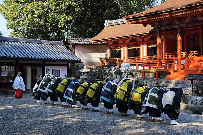 薬師寺 花会式 社参3