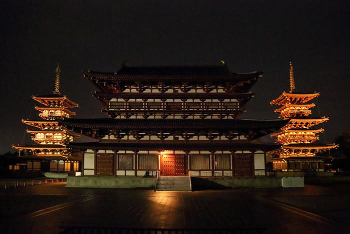 薬師寺 花会式 初夜上堂2