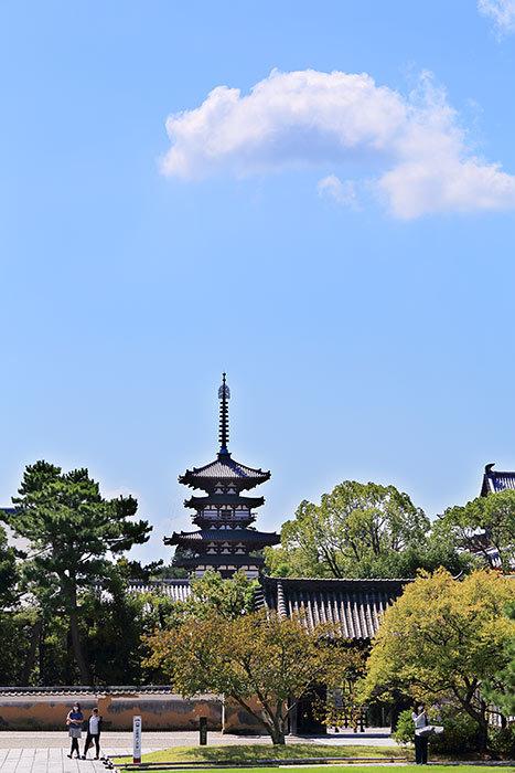 薬師寺 秋景3
