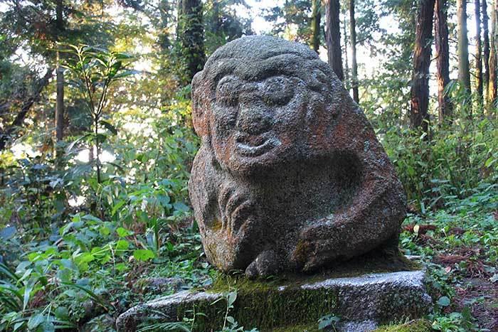 飛鳥 猿石4