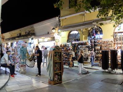 スペイン中東444アテネ旧市街