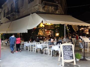 スペイン中東447アテネ旧市街