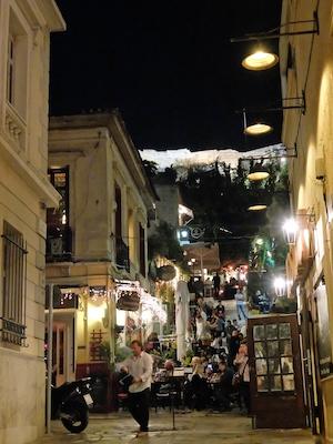 スペイン中東450アテネ旧市街