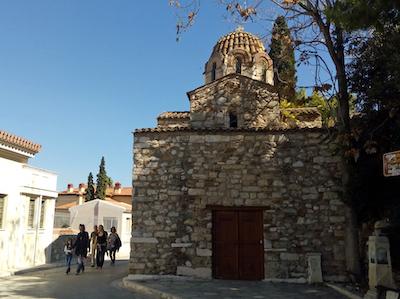 スペイン中東471アテネ旧市街