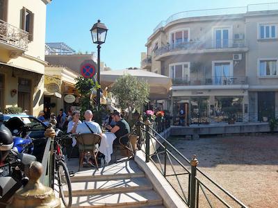 スペイン中東476アテネ旧市街