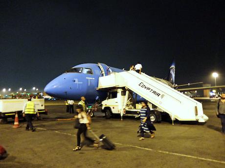 スペイン中東483カイロ空港