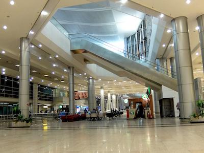 スペイン中東487カイロ空港