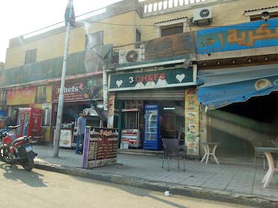 スペイン中東514ギザ街並み
