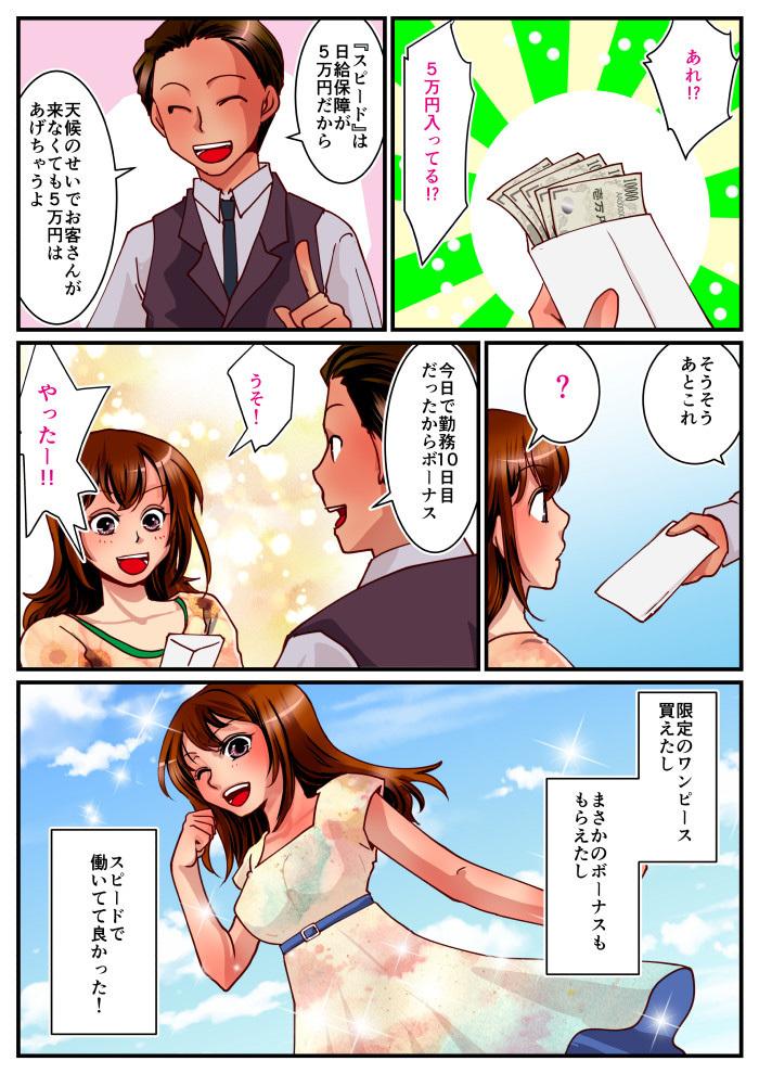 スピード難波漫画②