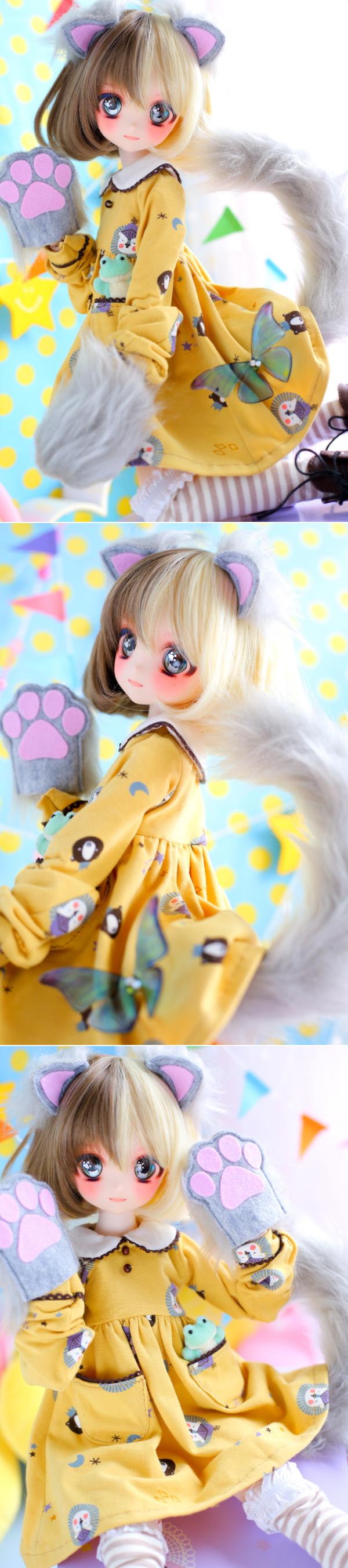 ヤフオク054DWC-01三毛猫ちゃんまとめ02